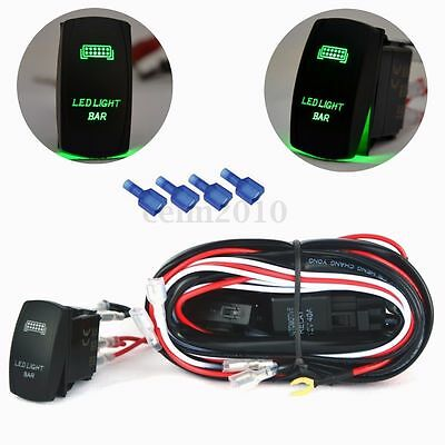 12V 40A 5 Pin Relay Fuse Wiring Harness LED Light Bar Laser ... Wiring Harness Led Light Bar on