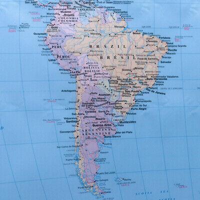 Poster Cartina Geografica Mondo.Mappamondo Da Grattare Poster Mappa Del Mondo 75 X 50 Cm Cartina
