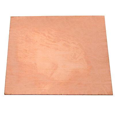 1PC 99.99% Pure Copper Cu Metal Sheet Plate 0.8mm*100mm*100mm 3