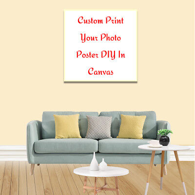 Wall Decor Custom Poster Print Your Photo Canvas Art Posters Home Room DIY Gifts 8