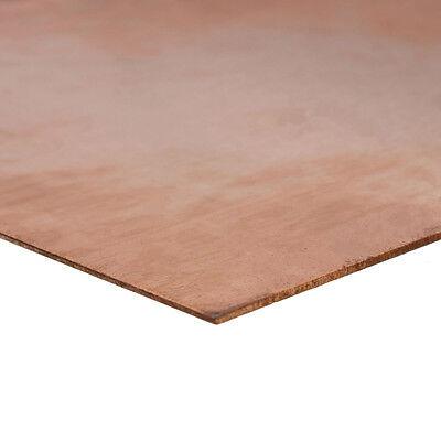 1PC 99.99% Pure Copper Cu Metal Sheet Plate 0.8mm*100mm*100mm 6