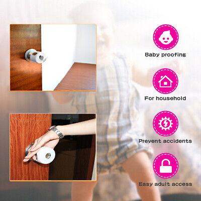 Baby Safety Door Knob Covers DoorKnob Locks Child Children Kids Proof 5 Pack 2