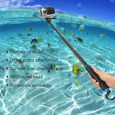 """36"""" Waterproof Extension Pole Selfie Stick for GoPro Hero/Session 6 5 4 3+ 3 2 1 7"""