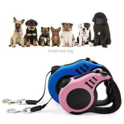 Dog Leash Retractable Walking Collar Automatic Traction Rope Small Pet 10FT 16FT 2