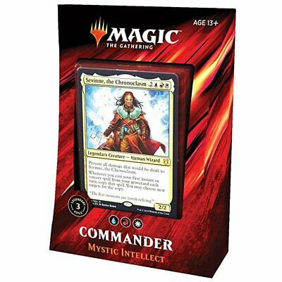 Magic Commander 2019 All 4 Decks Bundle Box 4