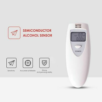 Police Breath Alcohol Test Tester Self Digital Analyzer Detector Breathalyser AU 3