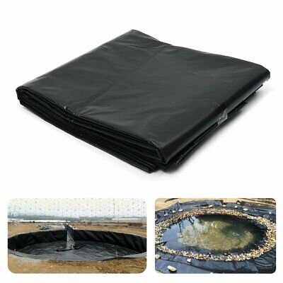 11 Sizes HDPE Fish Pool Pond Liner Gardens Membrane Reinforced Pools Landscaping 6