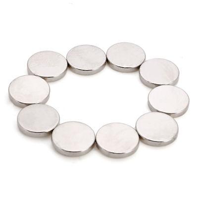 10 stücke N50 15x3mm Starke Magneten Runde Größe Rare-Earth Neodym magnet 2