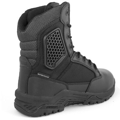 Magnum Strike Force 8 Work Police Composite Toe Side-Zip Boots Black ALL SIZES