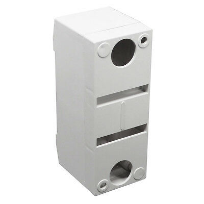 1 Pole 2 Pole MCB - Circuit Breaker Protective Cover Mounting Box Fixed Bracket 6