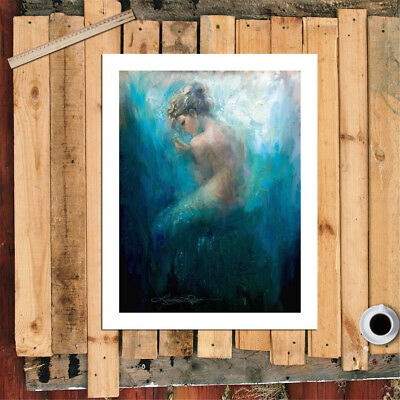 Mermaid Series Bare Home Decor Room Canvas Print Picture Wall Art Painting New 6