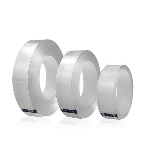 Ruban Adhésif Double Face 1/2/3 / 5M Ruban Lavable Nano-Traceless Réutilisable 3
