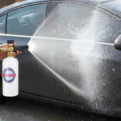 MATCC Snow Foam Cannon Adjustable Pressure Washer Foam Wash Gun 1L Bottle Car Wa 8
