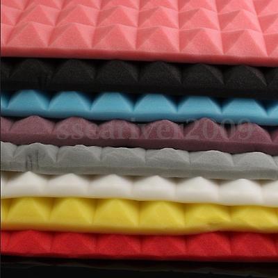 Acoustic Panels Tiles Studio SoundProof Flame Retardant Insulation Closed Foam 6