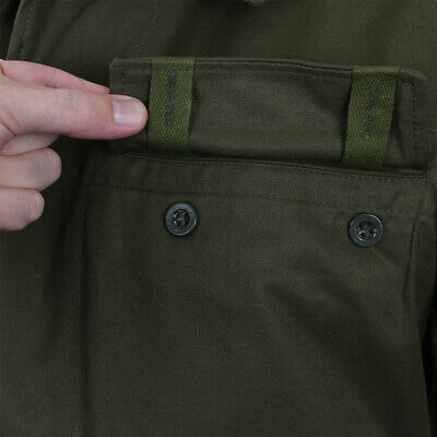 Original Vintage Czech Army Field Jacket M85 Olive Green Military Surplus Issue New