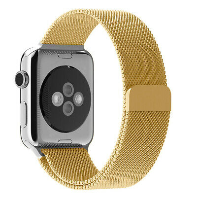 For Apple Watch Series 5 4 40mm 44mm Magnetic Milanese Loop Band Stainless Steel 10