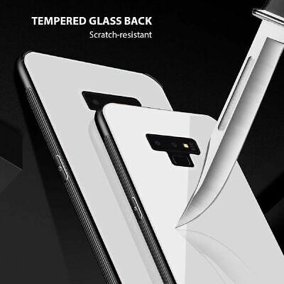 Samsung Galaxy S10 S9 Plus S10e Note 9 Case Slim Bumper Cover Tempered Glass 7