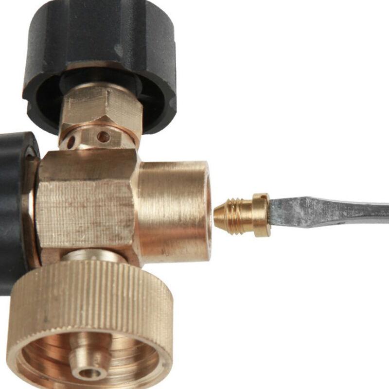 1Pc 1.1mm Foam Cannon Orifice Nozzle Tips for Snow Foam Lance Universal Brass 11