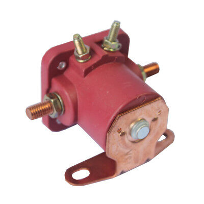New 12V Heavy Duty Solenoid Relay Red Fits For Ford Starter Car Truck SW3 SNL135 7