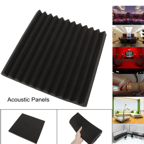 6/12/24 Acoustic Panels Tiles Studio Sound Proofing Insulation Closed Cell Foam 7