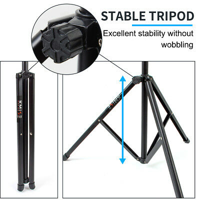 Adjustable Music Stand Holder Foldable Sheet Tripod Base Metal with carry bag 8