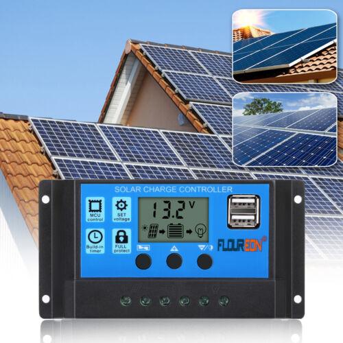 Photovoltaik-zubehör Heimwerker 30a 12v 24v Pwm Solar Laderegler Solarregler Solarpanel Controller Regulator Pb