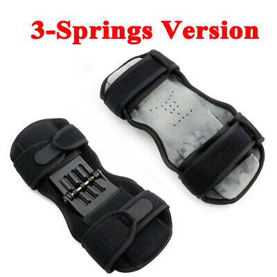 Patella Booster Spring Knee Brace Support Mountaineering Squat Sport Gym Running 11