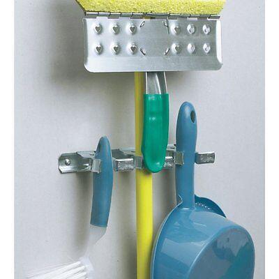 (2 Pack) Spring Clip Mop & Tool Holder Gripper 2