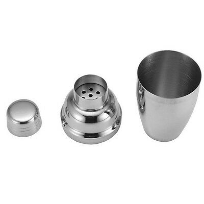10 Styles Stainless Steel Cocktail Martini Drink Shaker Mixer Party Bar Kit Set 10