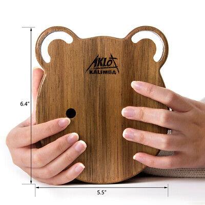 Kalimba 17 Thumb Piano Finger Key Mbira Education Musical Instrument Wood 4