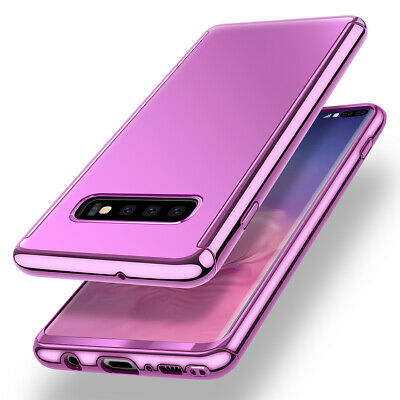 Samsung Galaxy S10/S10e/S9/S8 Plus 360 Plating Full Body Case Slim Mirror Cover 3