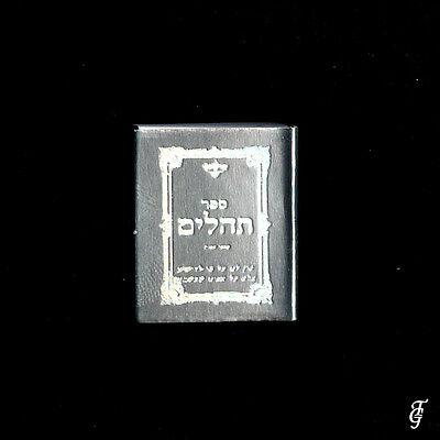 ~ Judaica Psalms / Tehilim /real Holy Book Miniature  Silver / 10 Bb 3