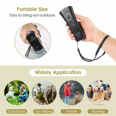 Petgentle Ultrasonic Anti Dog Barking Pet Trainer LED Light Gentle Chaser Style 8
