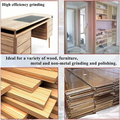 100x610mm Sander Sanding Belt 40~600 Grit For wood Metal Grinding Polishing Tool 3