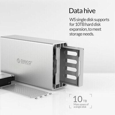 ORICO DUAL BAY USB 3 0 Docking Station Enclosure Case 3 5''inch SATA Hard  Drive