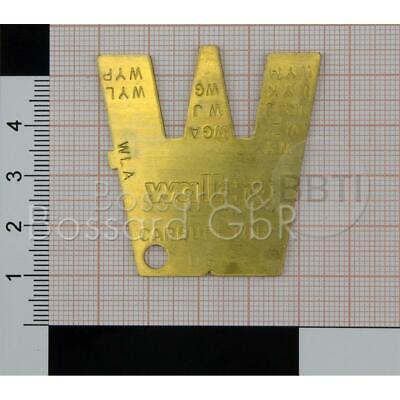 Lehre Einstellwerkzeug passend Walbro Vergaser Spezialwerkzeug Abstandhalter