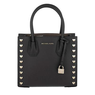 Michael Kors Studio Mercer Heart Pink Leather Medium Messenger Bag 30H7GM9M2U