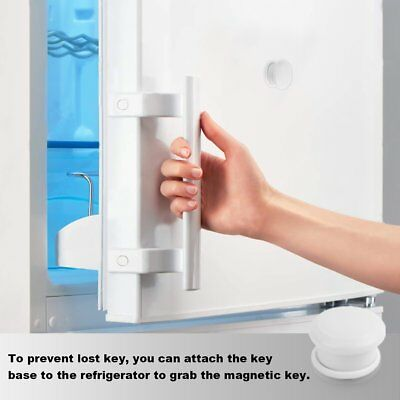 Invisible Magnetic Baby Child Locks Pet Proof Cupboard Drawer Safety Lock Catch 5