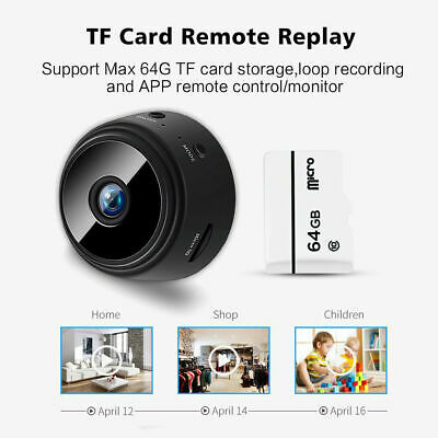 Mini Spy Camera Wireless Wifi IP Security Camcorder HD 1080P DV DVR Night Vision 12
