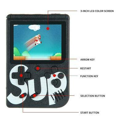 Console Videogioco Portatile 400 Giochi 8 Bit Sup Tv Colori Retro Game Boy 3