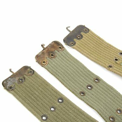 Original Greek Army Issue U.S. Style M1956 Individual Equipment Pistol Belt 5