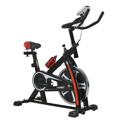 Black Bicycle Cycling Fitness Exercise Stationary Bike Cardio Home Indoor 508
