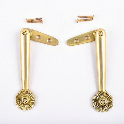 Carpet Runner Stair Holder Clips Pair Solid Brass Finish | Renovator's Supply
