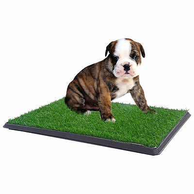"30""x20"" Pet Trainer Puppy Potty Patch Training Dog Toilet Grass Pad Pee Mat Turf 3"