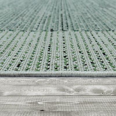 /& Outdoor-Teppich In Flachgewebe Mit Bordüre Für Balkon Und Terrasse in Beige