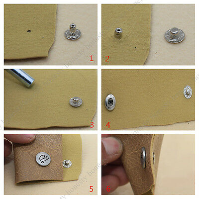 Eyelet Punch Die Tool Hole Cutter Set For Leather Craft Clothing Grommet Banner 5