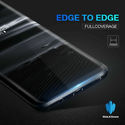 Genuine Samsung Galaxy S7 / Edge S9 S8 Plus Tempered Glass Full Screen Protector 8