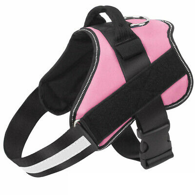 Non Pull Dog Harness Outdoor Adventure Pet Vest Padded Handle Small Medium Large 10