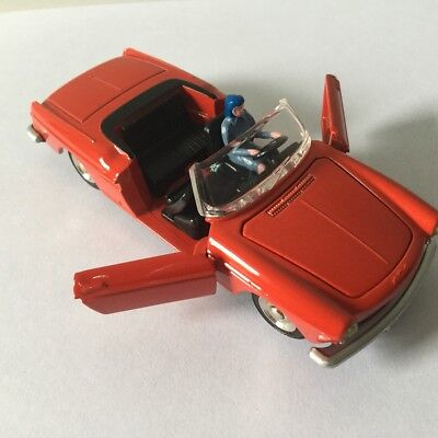 dinky 528 cabriolet 404 peugeot pininfarina porte peinture neuve