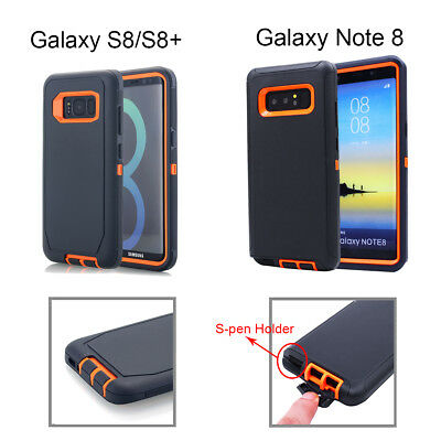 Samsung Galaxy S10+ S9 Note 8 9 Case Shockproof Hybrid Rubber Armor Rugged Cover 9